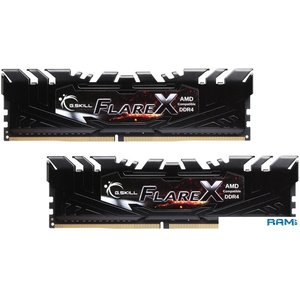 Оперативная память G.Skill Flare X 2x16GB DDR4 PC4-25600 F4-3200C14D-32GFX