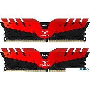 Оперативная память Team T-Force Dark 2x8GB DDR4 PC4-24000 TDRED416G3000HC16CDC01