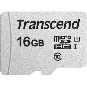 Карта памяти Transcend microSDHC 300S 16GB