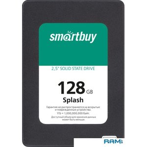SSD Smart Buy Splash 2019 128GB SBSSD-128GT-MX902-25S3