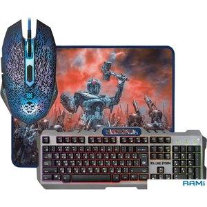 Клавиатура + мышь с ковриком Defender Killing Storm MKP-013L RU [52013]