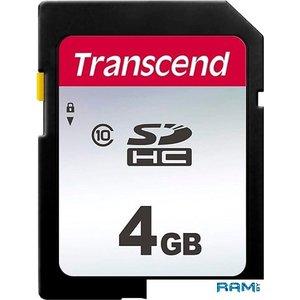 Карта памяти Transcend SDHC 300S 4GB