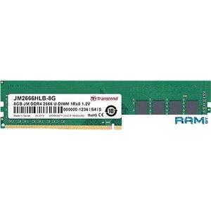 Оперативная память Transcend JetRam 16GB DDR4 PC4-21300 JM2666HLB-16G