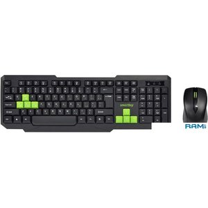 Клавиатура + мышь SmartBuy SBC-230346AG-KN