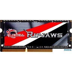 Оперативная память G.Skill Ripjaws 4GB DDR3 SODIMM PC3-12800 F3-1600C11S-4GRSL