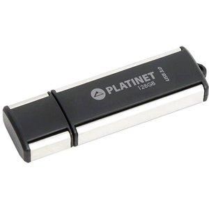 USB Flash Platinet X-Depo USB 3.0 128GB (черный/серебристый)