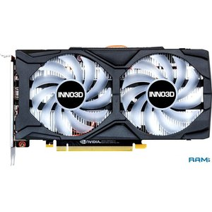 Видеокарта Inno3D GeForce GTX 1660 Twin X2 OC 6GB GDDR5 N16602-06D5X-1521VA15LB