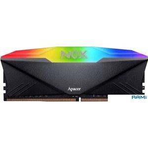 Оперативная память Apacer NOX RGB 8GB DDR4 PC4-25600 AH4U08G32C08YNBAA-1