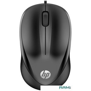 Мышь HP 1000 (черный)