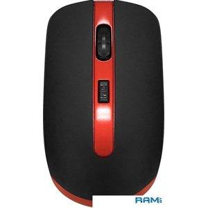 Мышь CBR CM 554R (черный/красный)