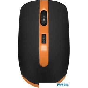 Мышь CBR CM 554R (черный/оранжевый)