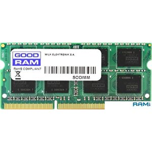 Оперативная память GOODRAM 2GB DDR3 SO-DIMM PC3-12800 [GR1600S3V64L11/2G]