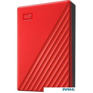 Внешний накопитель WD My Passport 4TB WDBPKJ0040BRD