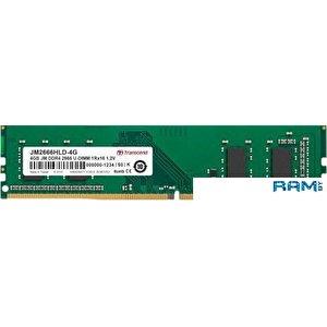 Оперативная память Transcend JetRam 4GB DDR4 PC4-21300 JM2666HLD-4G