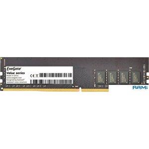 Оперативная память ExeGate Value 16GB DDR4 PC4-19200 EX283086RUS