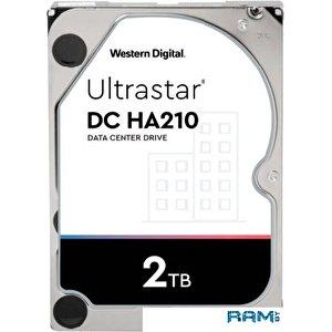 Жесткий диск WD Ultrastar DC HA210 2TB HUS722T2TALA604