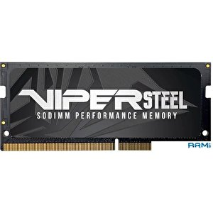 Оперативная память Patriot Viper Steel 8GB DDR4 SODIMM PC4-21300 PVS48G300C8S