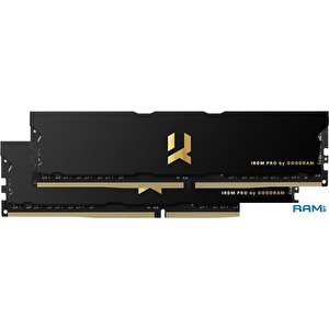 Оперативная память GOODRAM IRDM Pro 2x8GB DDR4 PC4-28800 IRP-3600D4V64L17S/16GDC
