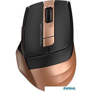 Мышь A4Tech Fstyler FG35 (черный/золотистый)