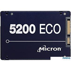 SSD Micron 5200 Eco 960GB MTFDDAK960TDC-1AT1ZABYY