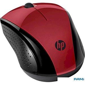 Мышь HP 220 (красный)