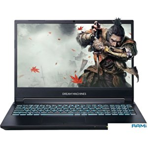 Игровой ноутбук Dream Machines G1660Ti-15BY40