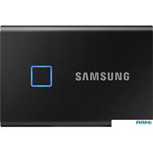 Внешний накопитель Samsung T7 Touch 500GB (черный)