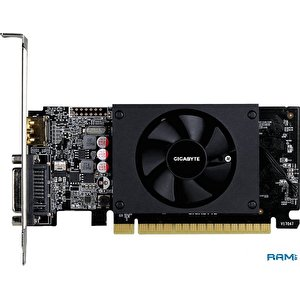 Видеокарта Gigabyte GeForce GT 710 1GB GDDR5 (rev. 2.0) GV-N710D5-1GL