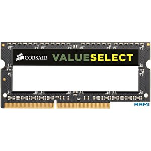 Оперативная память Corsair Value Select 4GB DDR3 SO-DIMM PC3-10600 (CMSO4GX3M1C1333C9)