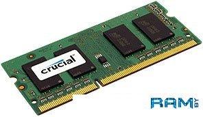Оперативная память Crucial 4GB DDR3 SO-DIMM PC3-12800 (CT51264BF160B)