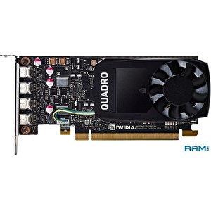 Видеокарта PNY Nvidia Quadro P1000 DVI 4GB GDDR5 VCQP1000DVIV2-PB