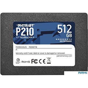 SSD Patriot P210 512GB P210S512G25