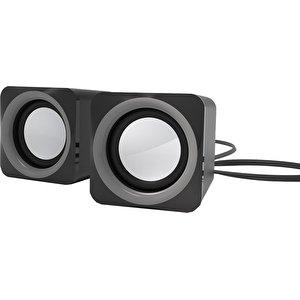 Акустика Ritmix SP-2025 (черный/серый)