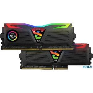 Оперативная память GeIL Super Luce RGB SYNC 2x8GB DDR4 PC4-25600 GLS416GB3200C16ADC