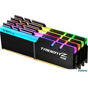Оперативная память G.Skill Trident Z RGB 4x8GB DDR4 PC4-32000 F4-4000C15Q-32GTZR