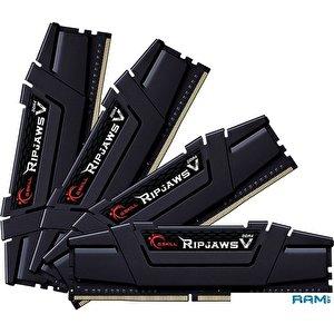Оперативная память G.Skill Ripjaws V 4x34GB DDR4 PC4-25600 F4-3200C16Q-128GVK