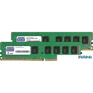 Оперативная память GOODRAM 2x8GB DDR4 PC4-19200 GR2400D464L17S/16GDC
