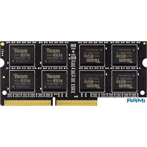Оперативная память Team Elite 8GB DDR3 SODIMM PC3-12800 TED3L8G1600C11-S01