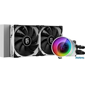 Кулер для процессора DeepCool GamerStorm Castle 240EX DP-GS-H12W-CSL240EXWH