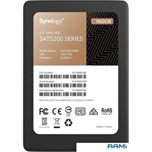 SSD Synology SAT5200 960GB SAT5200-960G