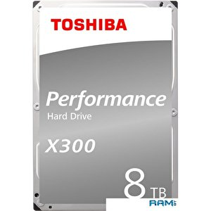 Жесткий диск Toshiba X300 8TB HDWR180EZSTA