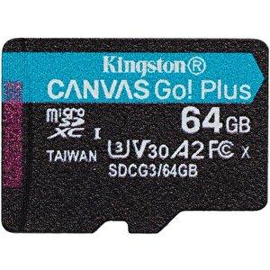 Карта памяти Kingston Canvas Go! Plus microSDXC 64GB