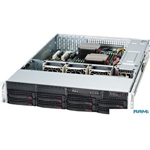 Корпус Supermicro SuperChassis CSE-825TQC-R802LPB
