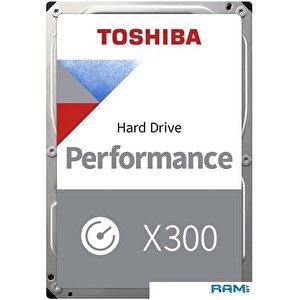 Жесткий диск Toshiba X300 6TB HDWR160EZSTA