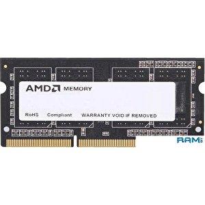 Оперативная память AMD 4GB DDR3 SO-DIMM PC3-12800 (R534G1601S1SL-UO)
