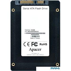 SSD Apacer PPSS25 512GB AP512GPPSS25-R