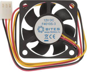 Кулер для корпуса 5bites F4010S-3