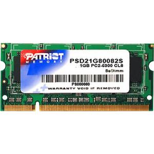 Память SODIMM DDR2 1GB Patriot PSD21G80082S