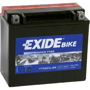 Мотоциклетный аккумулятор Exide YTX20HL-BS Maintennance Free (18 А/ч)