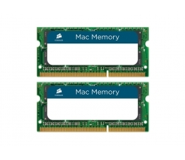 Оперативная память Corsair Mac Memory 2x8GB DDR3 SO-DIMM PC3-12800 (CMSA16GX3M2A1600C11)